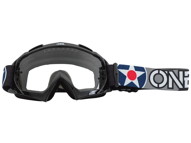 O'Neal B-10 Goggles warhawk black/gray-clear